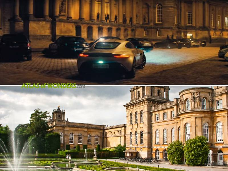 Blenheim Palace Spectre reunion