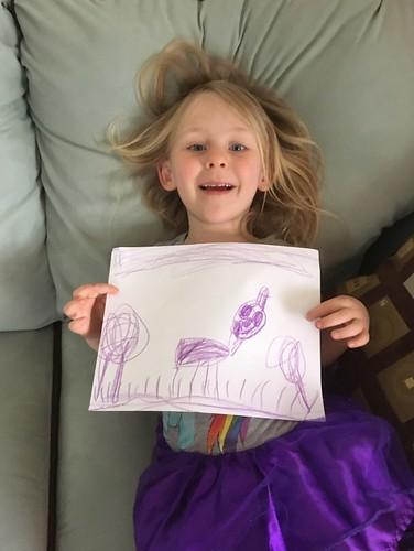 purple picture