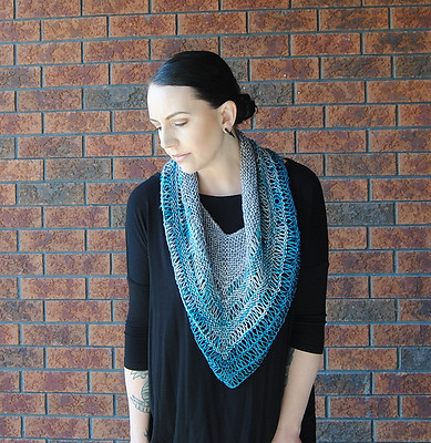 Veer Cowl by Lisa Mutch of Northbound Knitting is free today until May 10, 2020