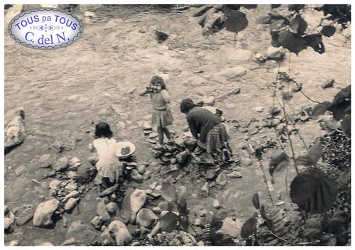 Lavandera en Besullo