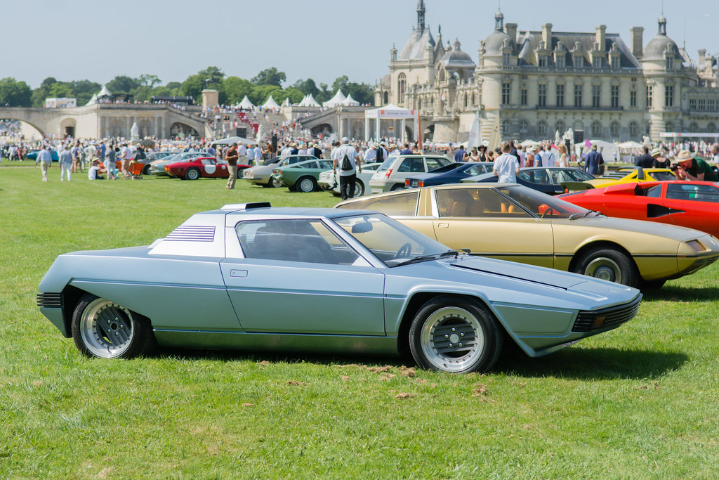 1976 Ferrari Rainbow Gandini Concours D Elégance Chantil Flickr
