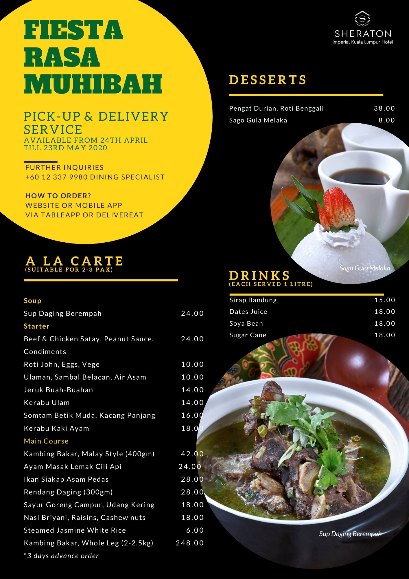 Ramadan Pick Up and Delivery - Page 1