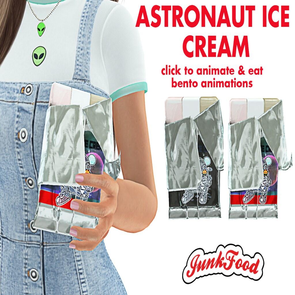Junk Food – Astronaut Ice Cream