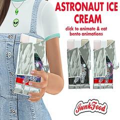 Junk Food - Astronaut Ice Cream