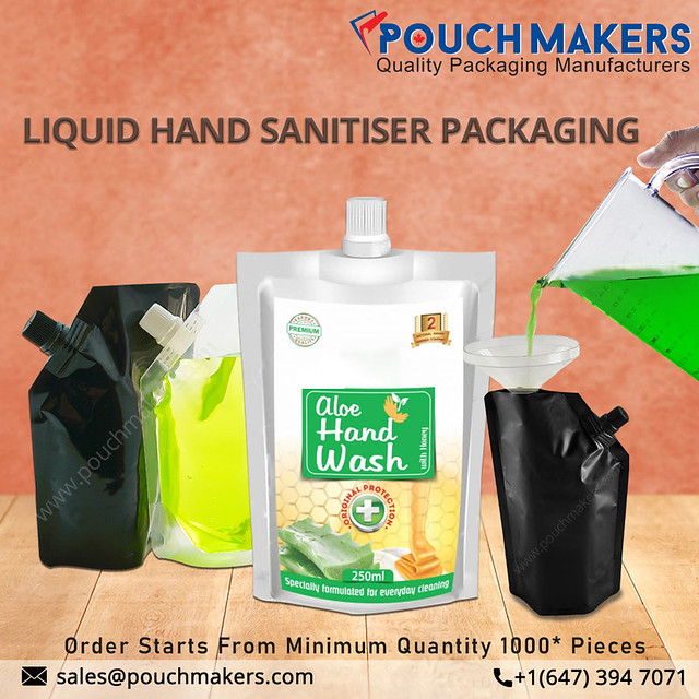 sanitizer packaging at an affordable price