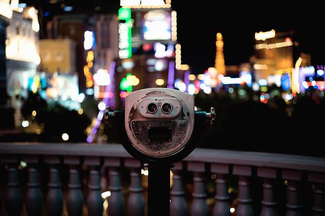 Binoculars at Night