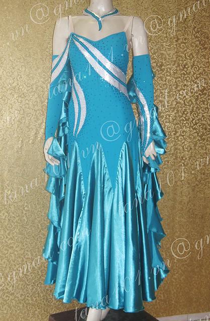 Váy khiêu vũ standard ST57bw