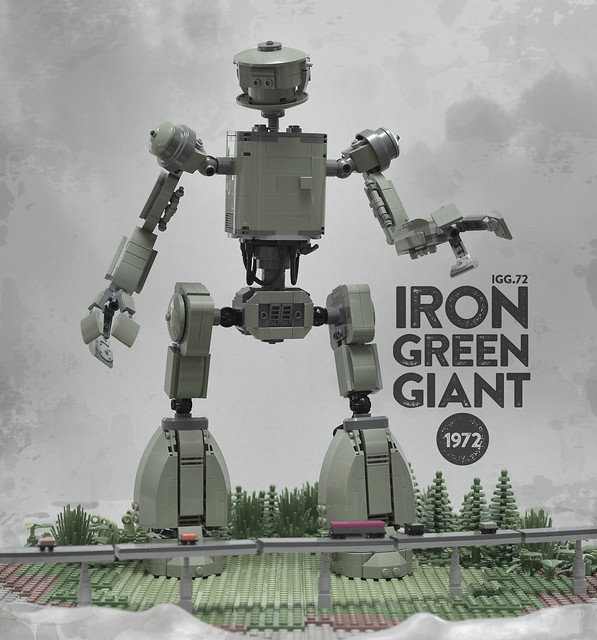 Lego Iron Green Giant 1972 Robot - atana studio