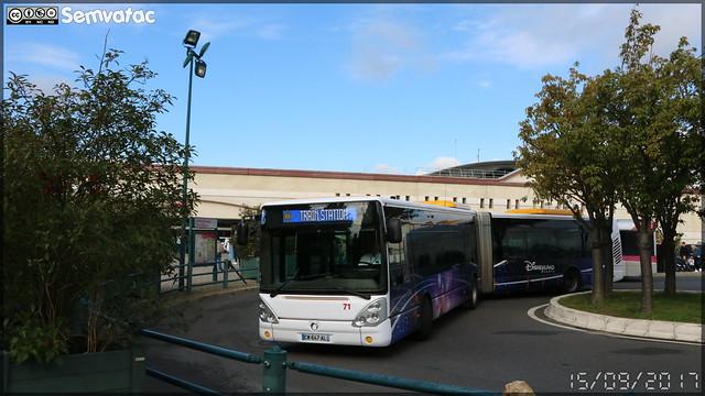 Irisbus Citélis  18 – Disneyland Paris n°71