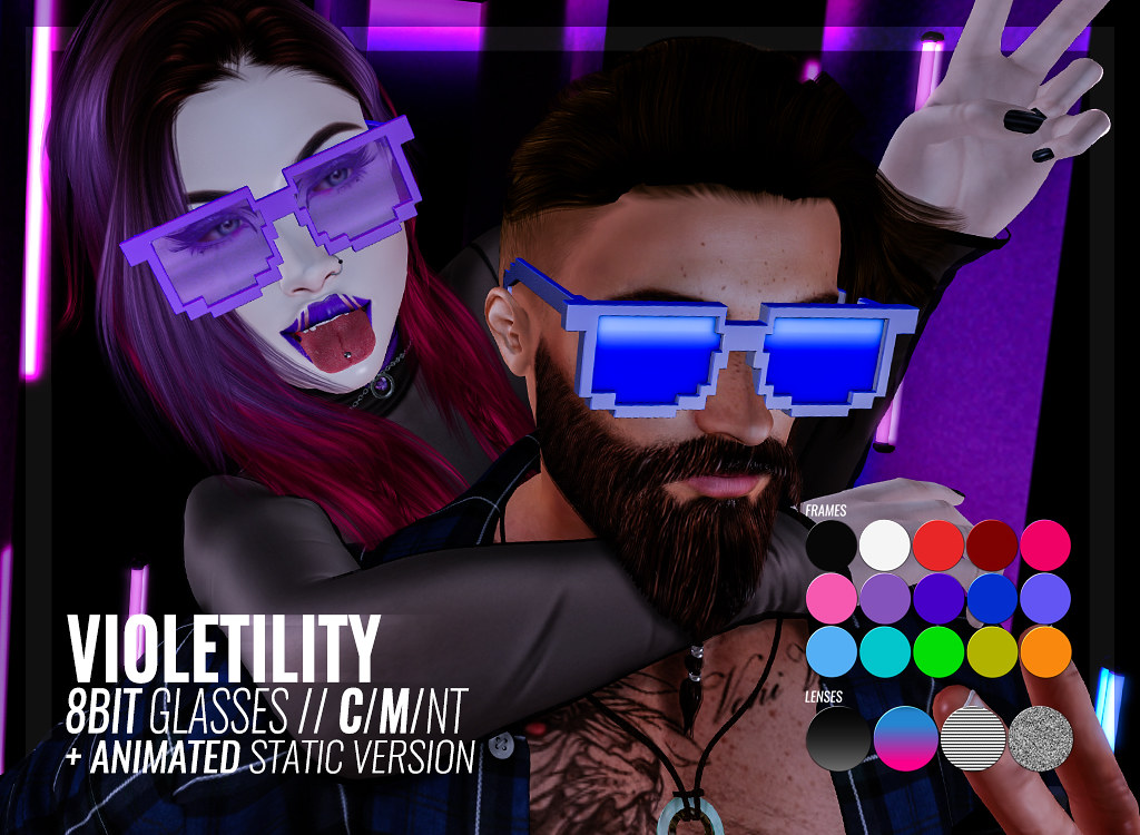 Violetility – 8Bit Glasses