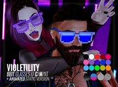 Violetility - 8Bit Glasses