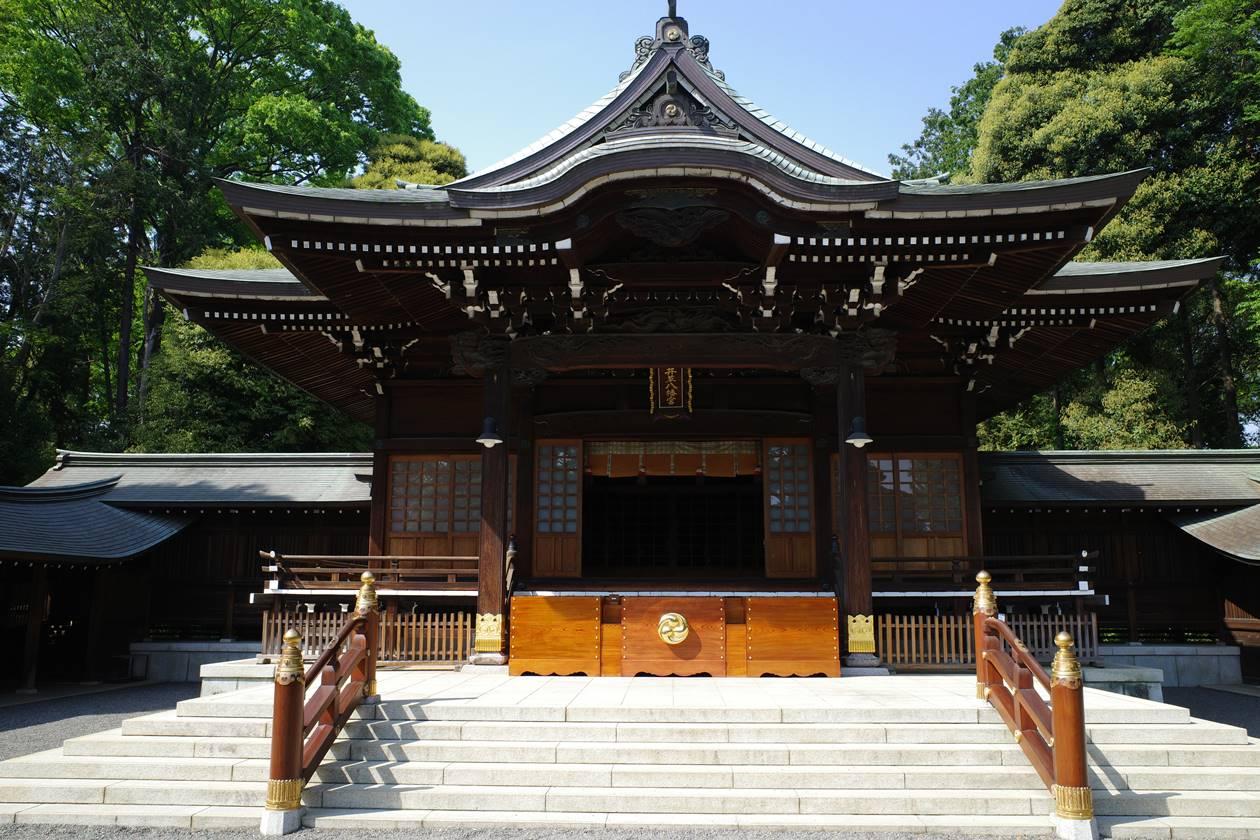 井草八幡宮・拝殿