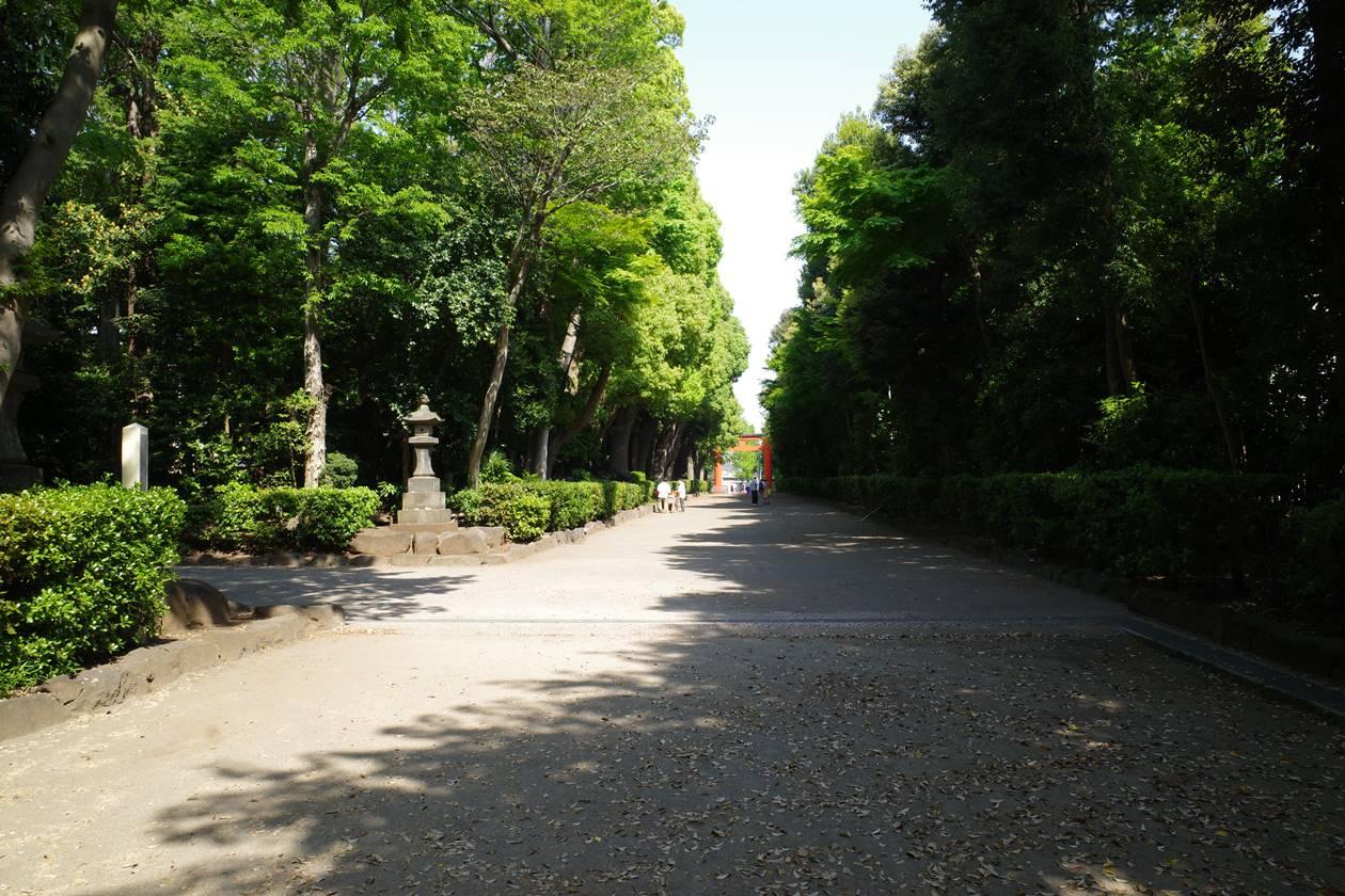 井草八幡宮・参道