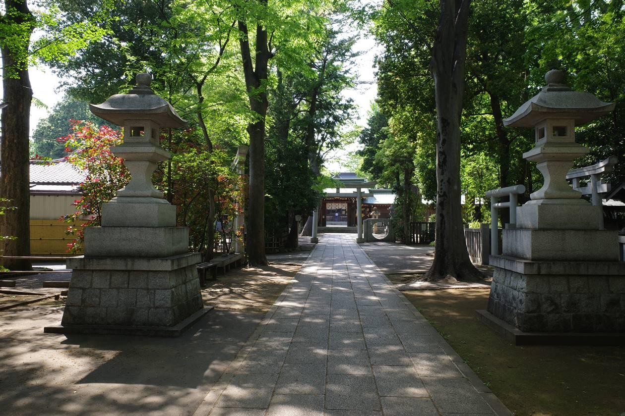 荻窪八幡神社の境内