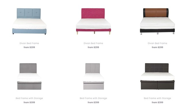 fullhouse bed frames & mattresses