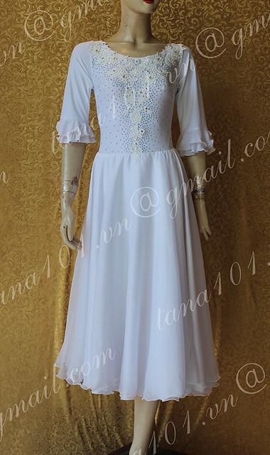 Váy khiêu vũ standard ST164w