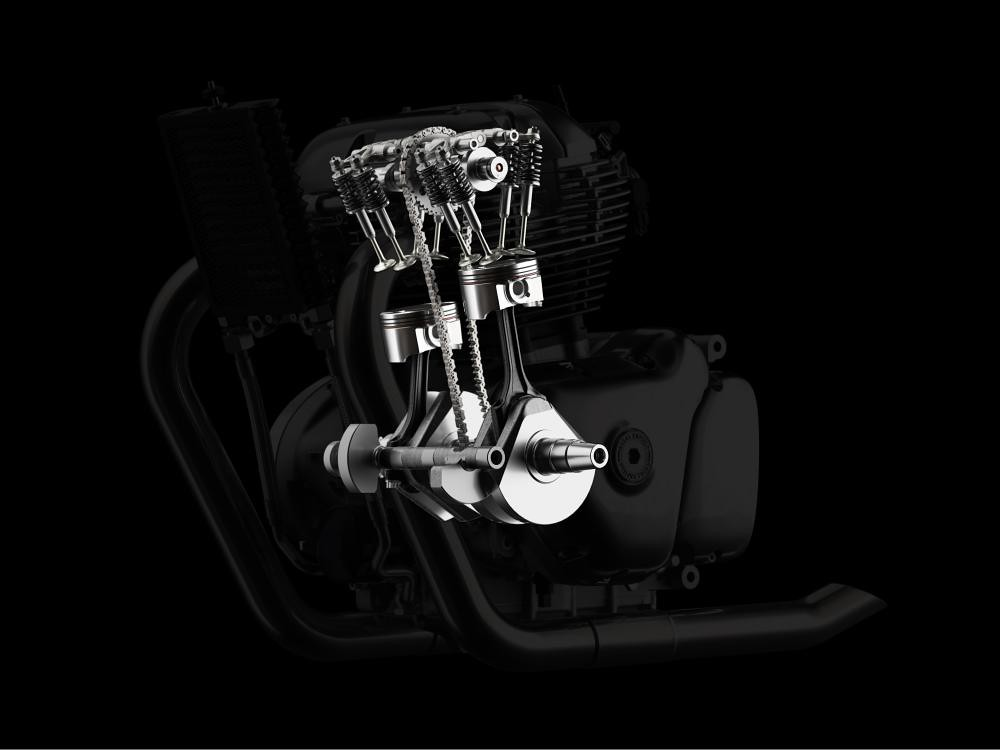 Royal Enfield Continental GT 650 Engine