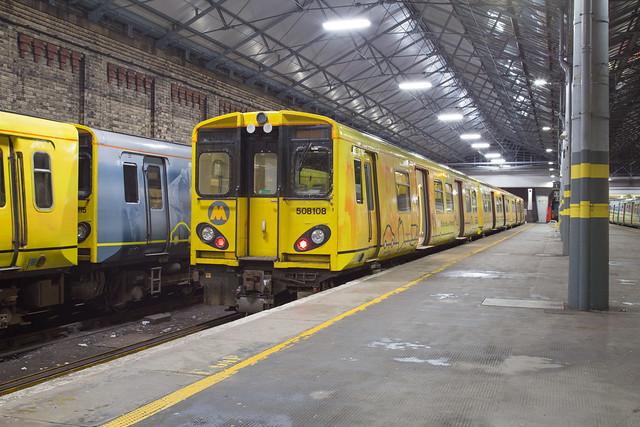 Merseyrail 508 108 Southport