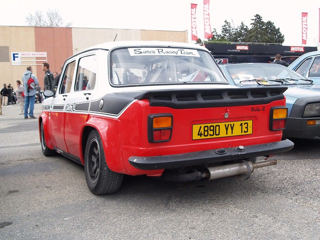 Simca Rallye 2 Coupe SRT 77