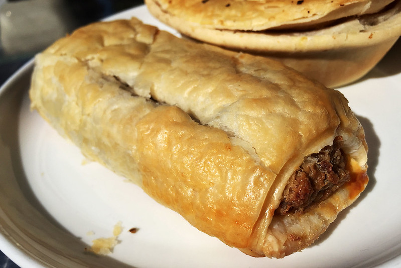 Sausage roll: Exquisite Cakes, Castle Hill