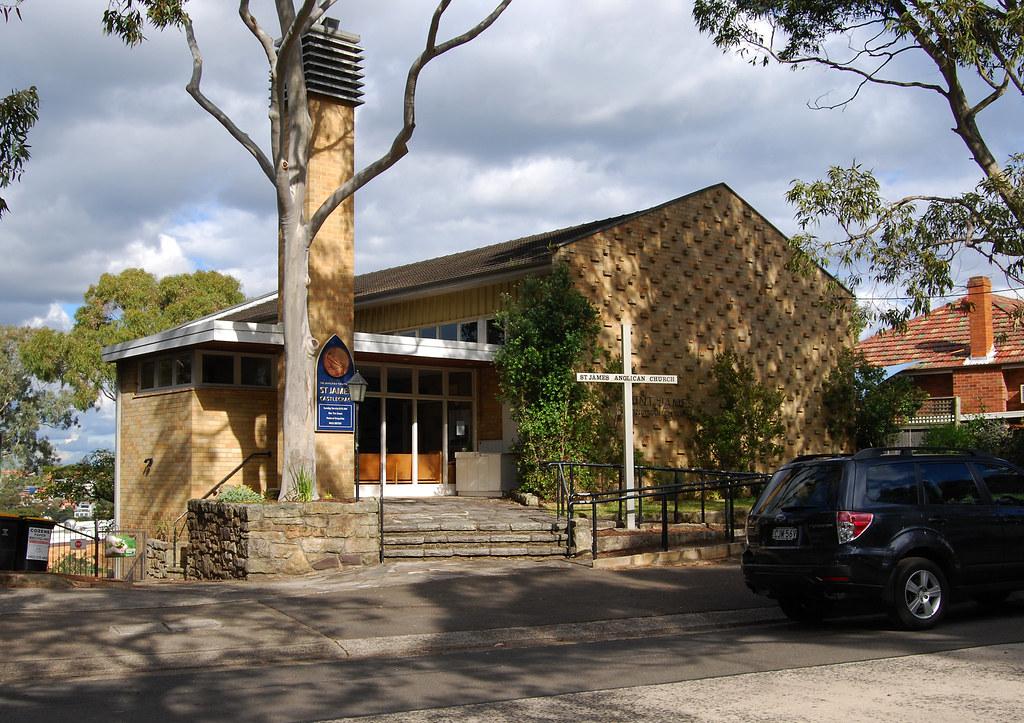 St James Anglican Church, Castlecrag, Sydney, NSW.