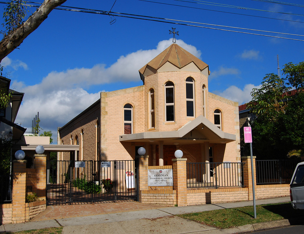 Armenian Evangeligal Unitning Church, Willoughby, Sydney, NSW.