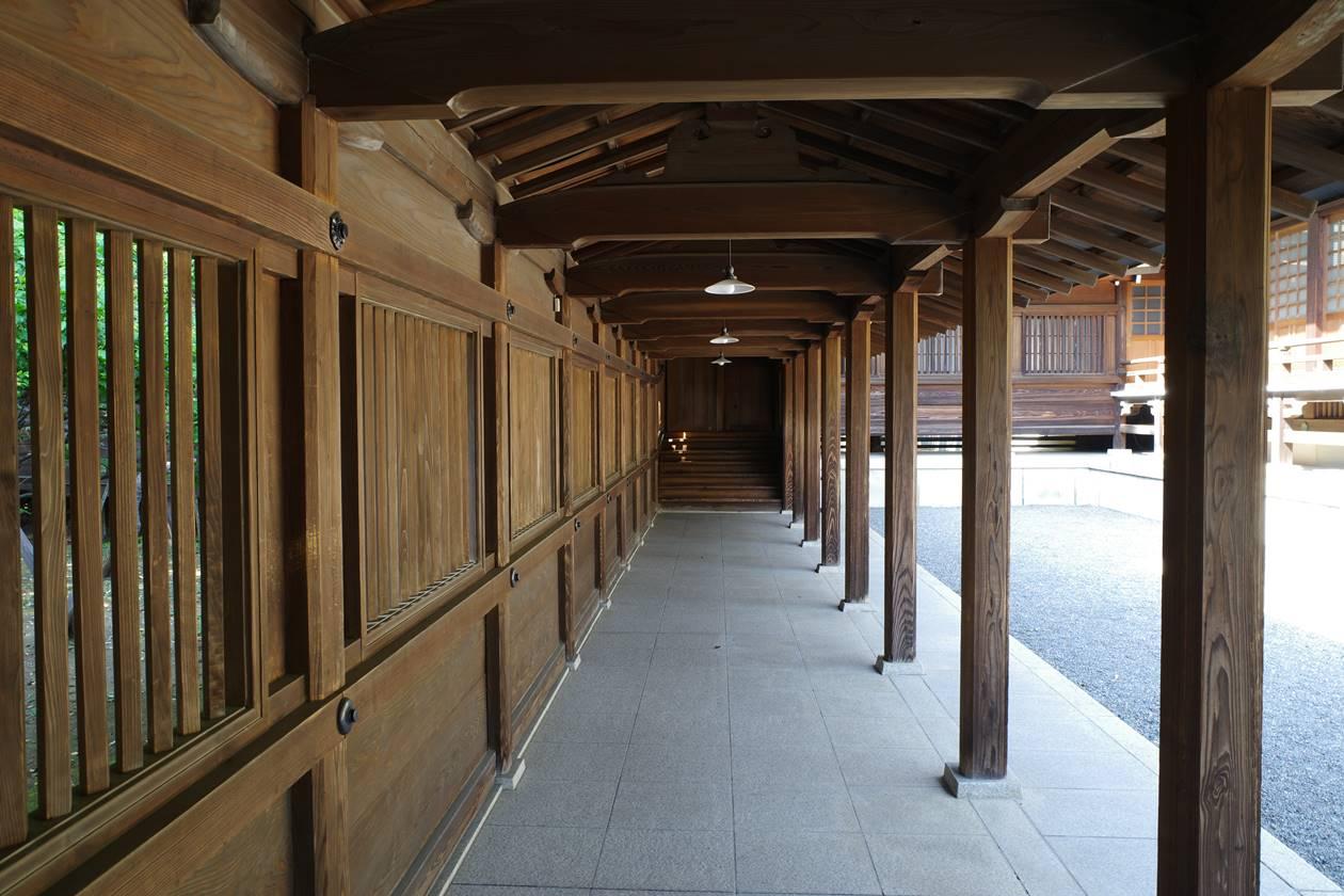 井草八幡宮・回廊