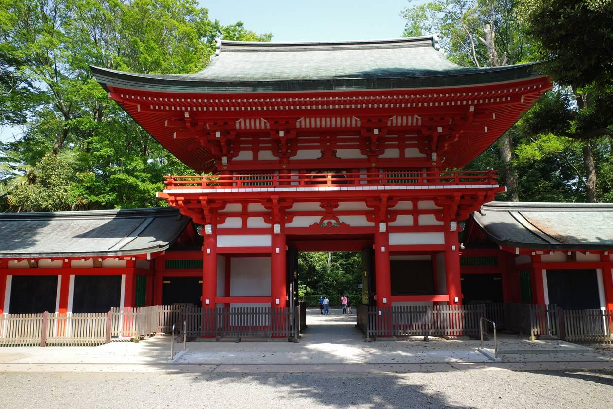 井草八幡宮・神門