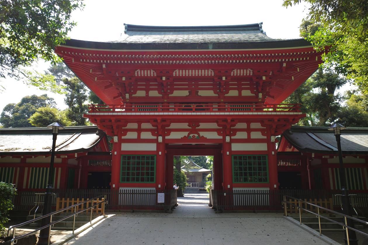 井草八幡宮・楼門