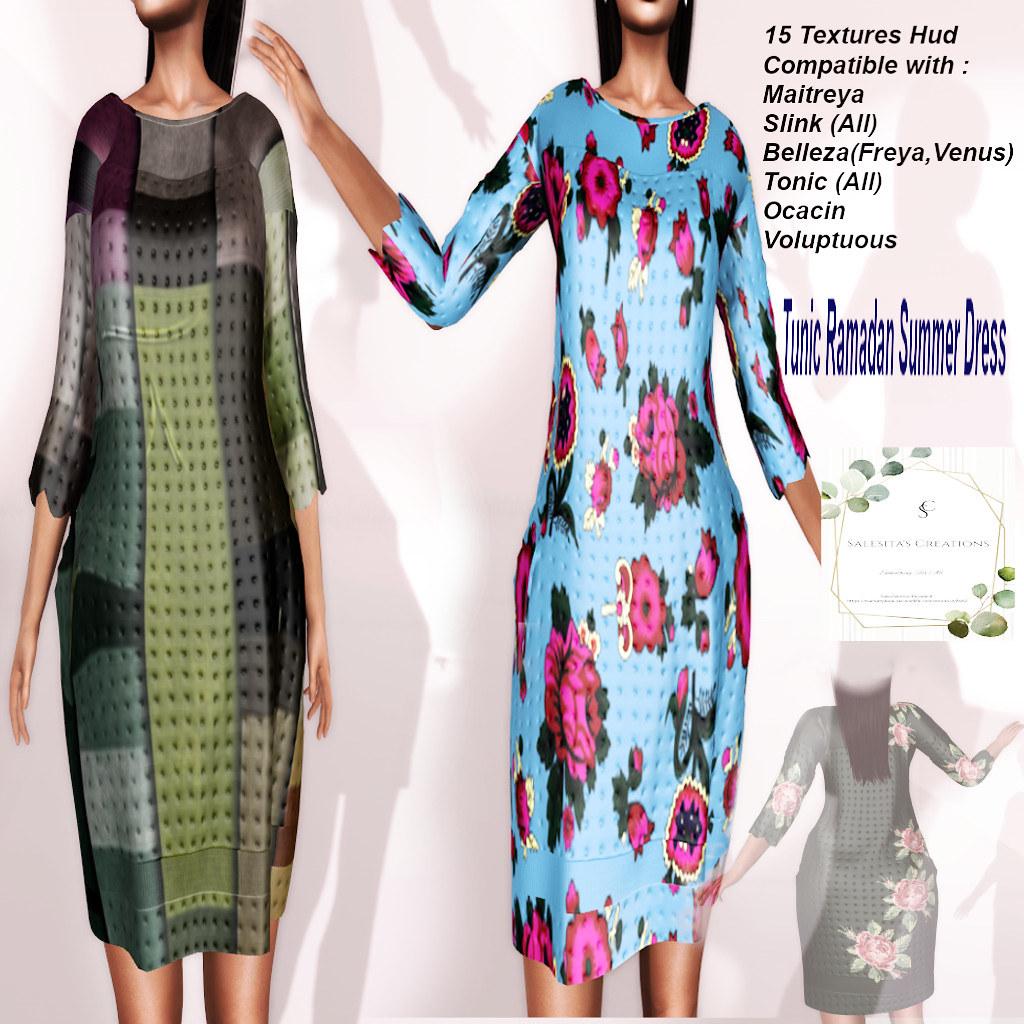 TUNIC RAMADAN SUMMER DRESS SALESITA'S CREATIONS