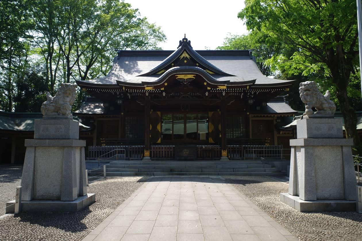 荻窪八幡神社・拝殿