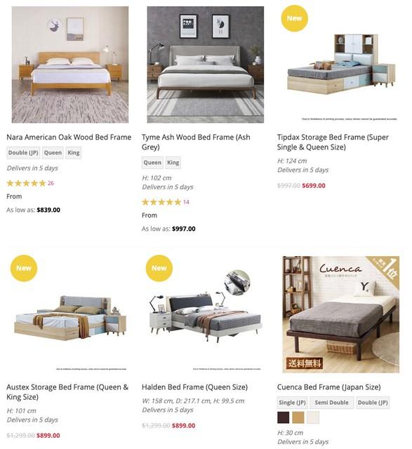 bedandbasics bed frames & mattresses
