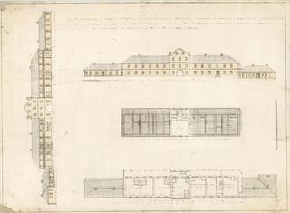 Convict Barracks approx 1830