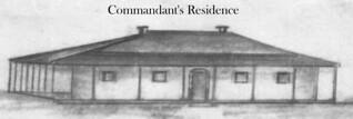 Commandants Residence approx 1830