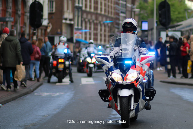 Dutch military police Yamaha FJR 1300
