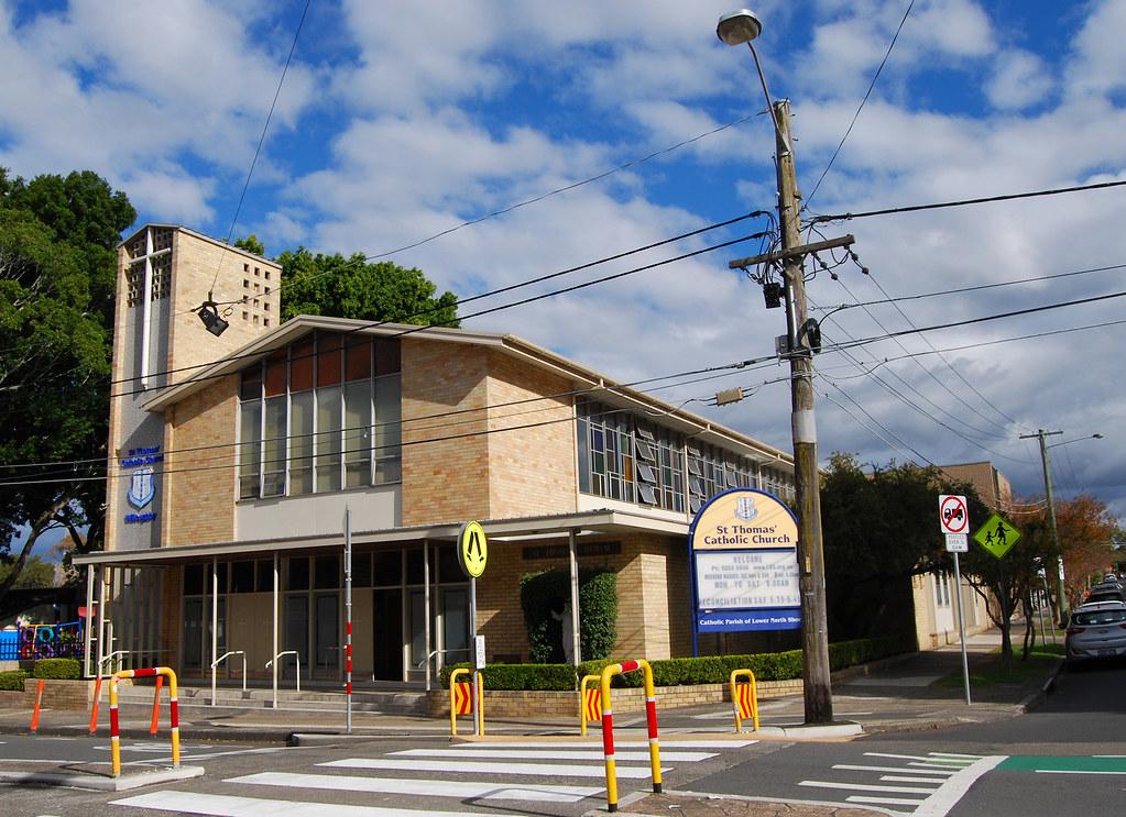 St Thomas Catholic Chuch, Willoughby, Sydney, NSW.