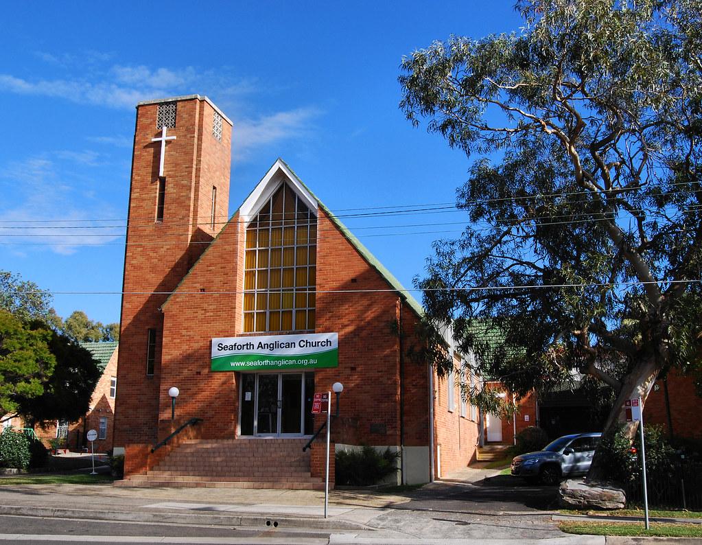 Seaforth Anglican Church, Seaforth, Sydney, NSW.