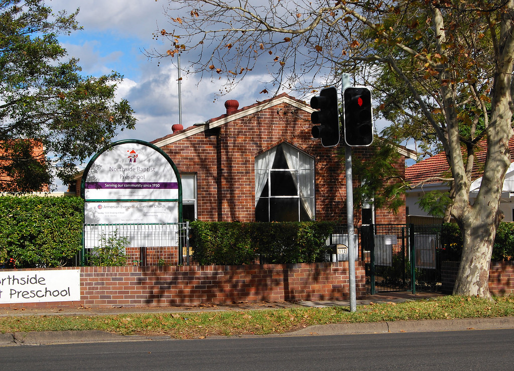 Baptist Church, Northbridge, Sydney, NSW.