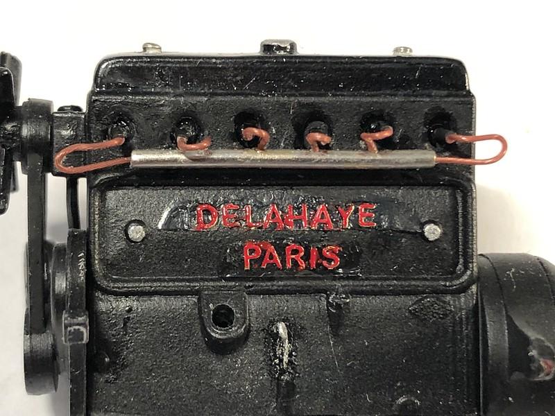 DELAHAYE Type 135 modèle 1938 ... Du scratch, du scratch, encore du scratch et toujours du scratch ! Réf 80707 49874152641_b27060d95b_c