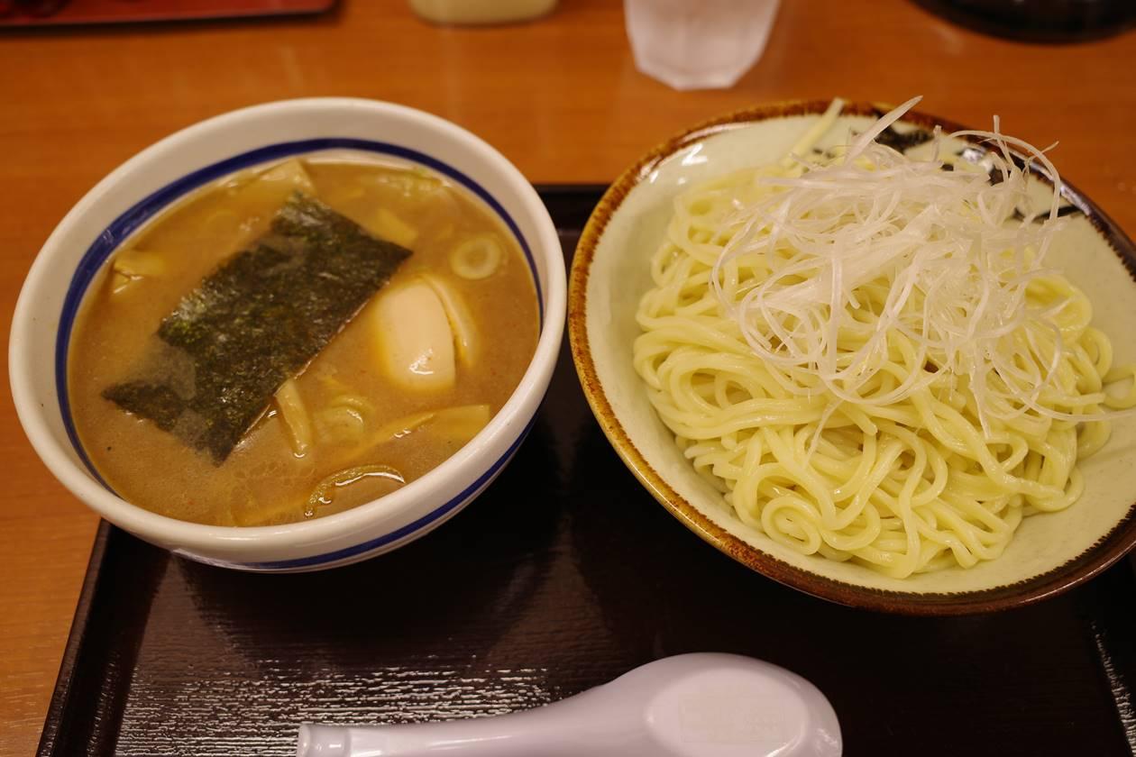 大勝軒のつけ麺(青梅街道)