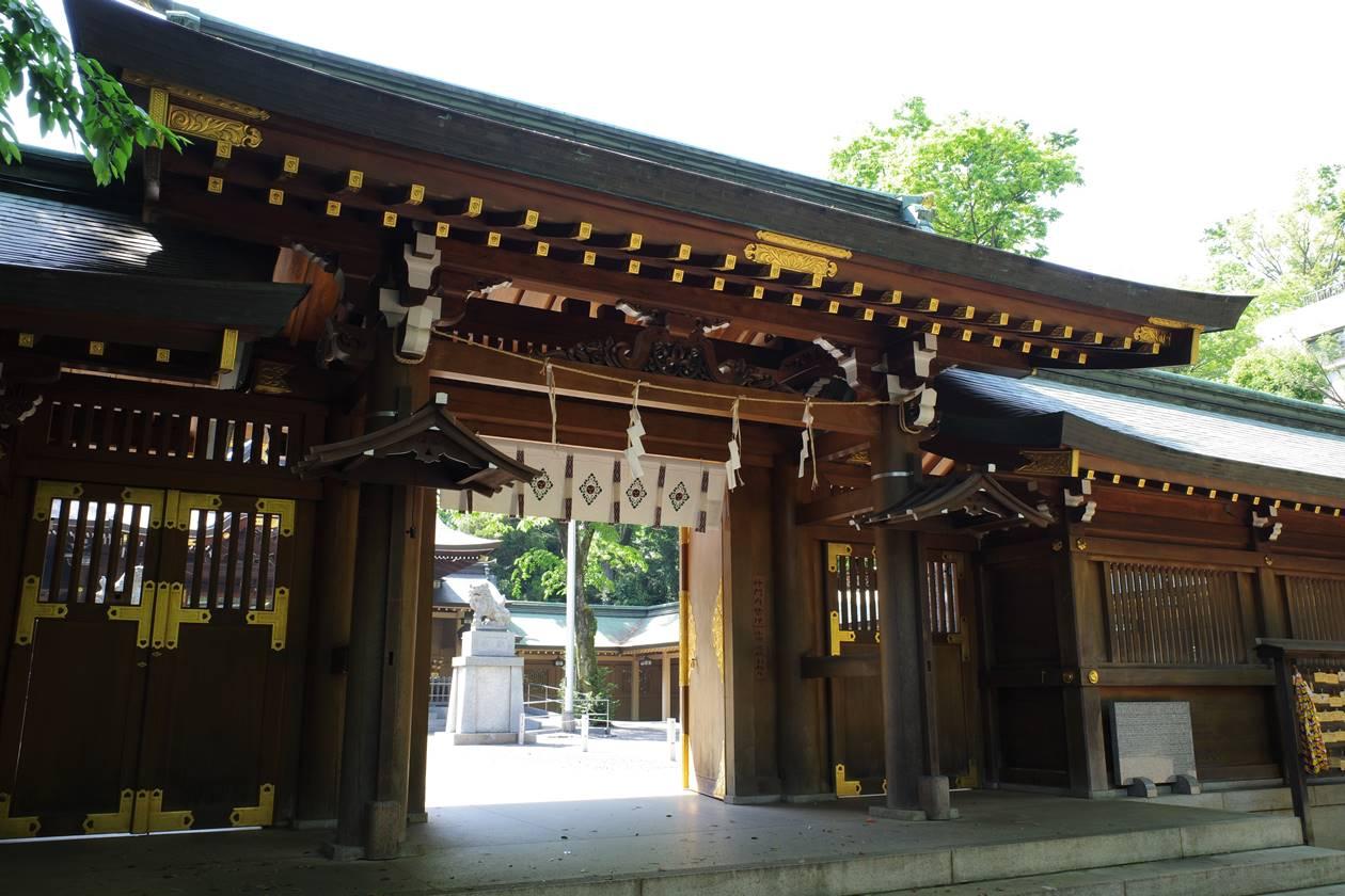 荻窪八幡神社・神門