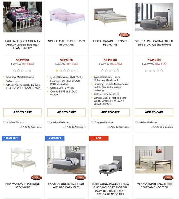 courts bed frames & mattresses