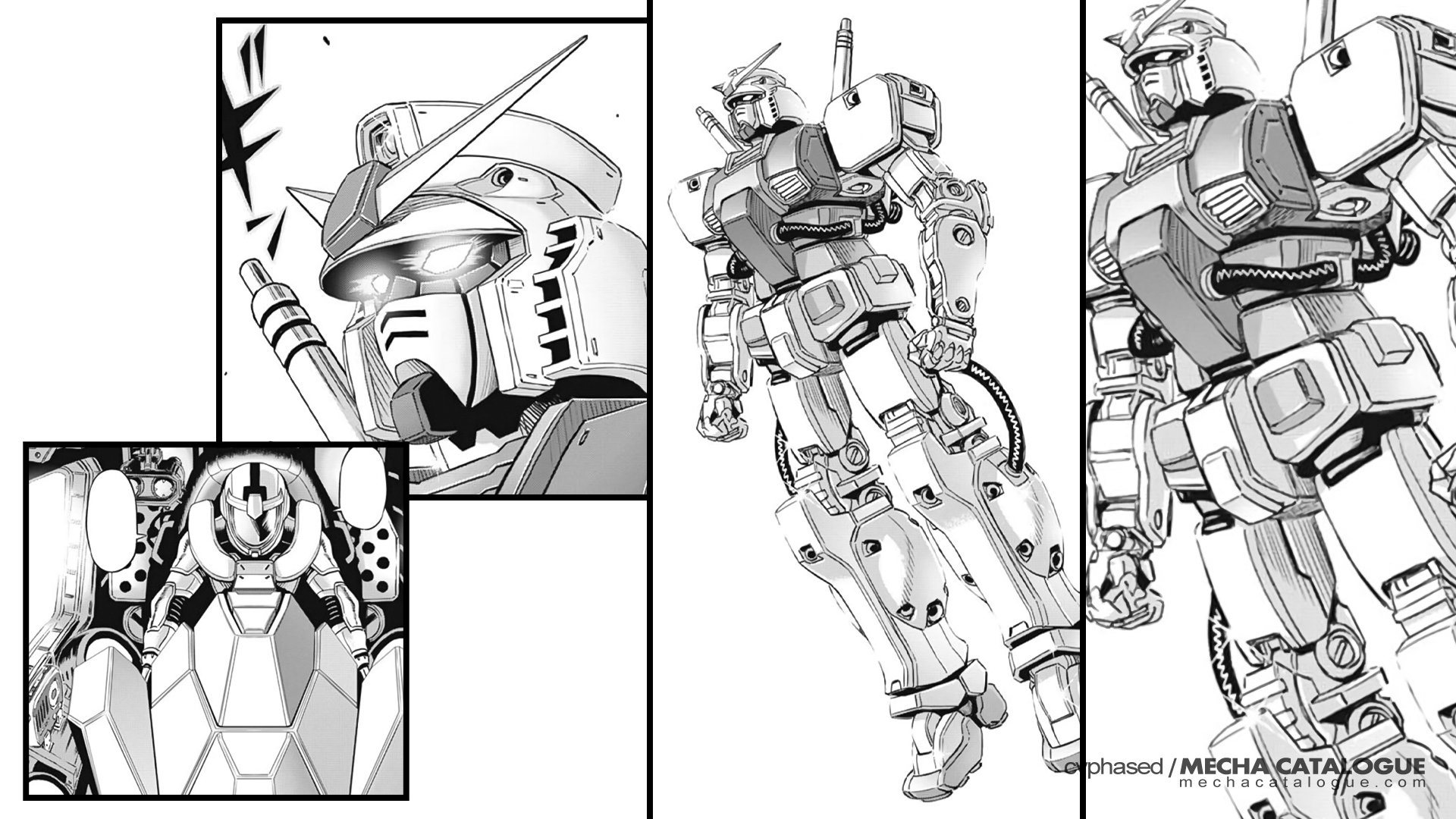 "Random ""Gundam Thunderbolt"" Stuff: Fake Gundams"