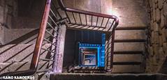 escaleras torre de hercules, A Coruña
