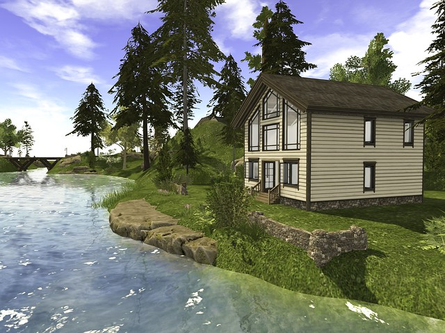 Log Homes; Linden Home