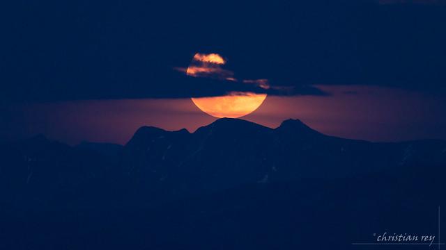 Lever de la pleine Lune du 7 mai (Switzerland)