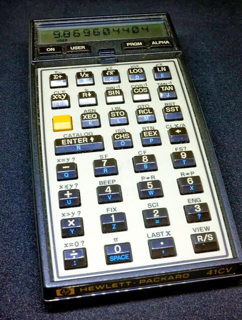 HP-41CV 2320S4107B