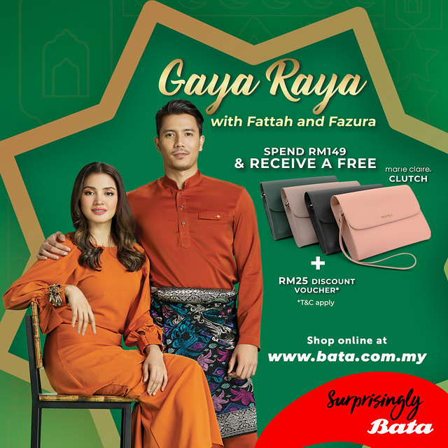 Bata Presents Gaya Raya with Fattah Amin & Fazura