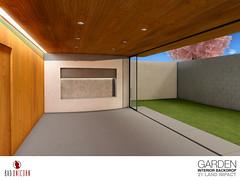 Interior Backdrops - Garden
