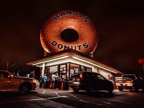 Randy´s Donuts. Los Angeles